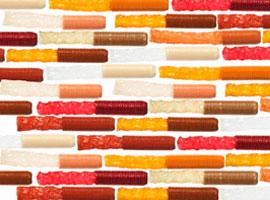 Innovaciones en la variedad de colores de las tripas de viscofan