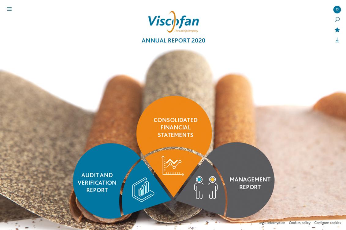 Annual Report 2020 Viscofan
