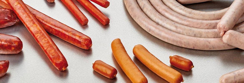 Viscofan envolturas de colágeno para salchichas frescas procesadas
